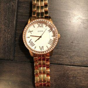 Guess Rosegold Watch